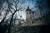 View Of Glockenturm Tower On Schlossberg Hill, Graz
