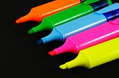 Highlighter pens.