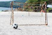 Football On The Beach