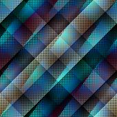 Diagonal abstract pattern with dots.