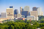 Nashville, Tennessee, USA downtown skyline.