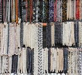 Necklaces Of Pearls And Semiprecious Stones