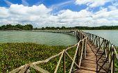 Wooden Bridge Cross Reservoir