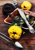 kitchen accessories to tea fruit tea in vintage style