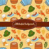 Oktoberfest vector background