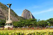 Mountain Sugarloaf General Tiburcio Square Monument, Rio De Janeiro