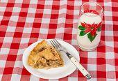 Christmas Pie And Milk