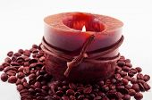 Aromatherapy Candle With Coffee