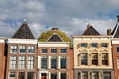 Canal Houses In The Sun, Groningen, Netherlands