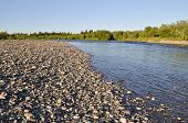 The Ural River.
