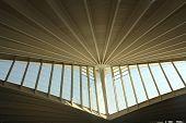 stock photo of calatrava  - Geometric architecture Calatrava - JPG