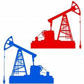 stock photo of nod  - The Oil pumpjack Oil industry a equipment - JPG