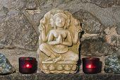 pic of handicrafts  - hindu stone carving - JPG