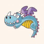 pic of dragon  - Dragon Theme Elements Vector - JPG
