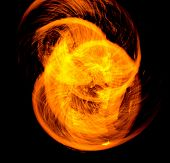 picture of fieri  - Fiery Motion Fire Show  - JPG