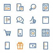 picture of kitchen appliance  - Kitchen Appliances Web Icons - JPG