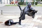 picture of policeman  - BRUSSELS BELGIUM  - JPG