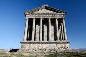 picture of sun god  - Garni temple dedicated to sun god Mithra  - JPG