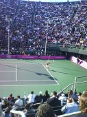Sharapova's serve