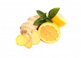 stock photo of peppermint  - lemon - JPG