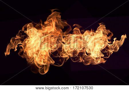 poster of Fire Flames Background