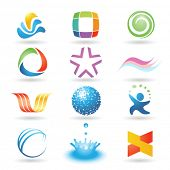Set of vector design elements 8