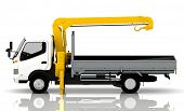 stock photo of tow-truck  - tow truck - JPG