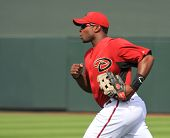 Arizona Diamondbacks Right Fielder Juston Upton