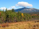 Mount Katahdin - Autumn In Maine
