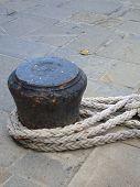 Anchored At Port