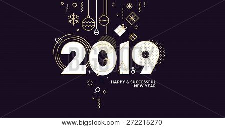 Business Happy New Year 2019
