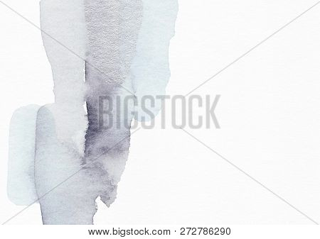 Elegant Hand Painted Winter Background