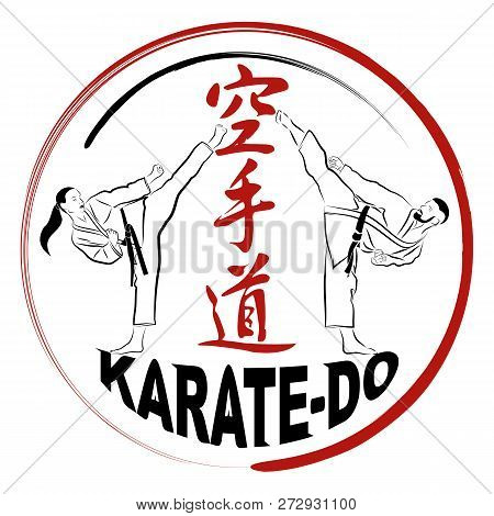 Vector Image Of Karatekas Men