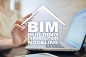 Bim - Building Information Modeling Is A Process The Generation And Management Of Digital Representa poster