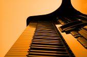 Piano In Orange