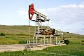 picture of nonrenewable  - oil pump station - JPG