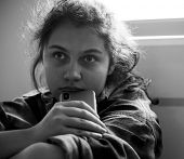Teen girl bullied through social media poster