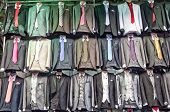 Grand Bazaar, Istanbul, Turkey: shop men's suits - fake famous brands