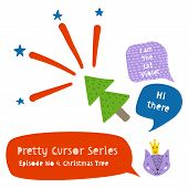 Series Of Cute Funny Cursors Or Pointers For Children poster