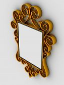 Abstract Frame  Ornament