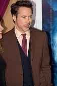 WESTWOOD, CA - DECEMBER 6: Actor Robert Downey Jr. arrives at the premiere of