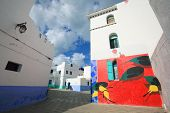 foto of asilah  - Moroccan architecture in Asilah - JPG
