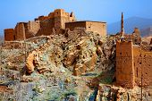 Kasbah in Dades Valley, Morocco, Africa