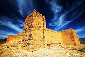 Kasbah in Middle Atlas Mountains, Africa