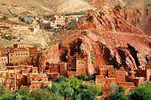 Ruins of a moroccan kasbah, Africa
