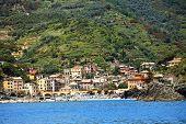 Beach of Monterosso al Mare, Cinque Terre, Italy