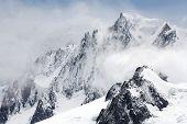 Paisagem de Moauntain em Haute Savoie, França