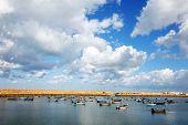 picture of asilah  - Asilah Harbor - JPG