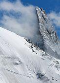 Dent du Geant in Haute Savoie, France, Europe