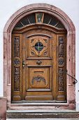 Old Door, Freiburg, Germany
